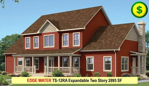 EDGE WATER TS-12RA Expandable Two Story 2895 SF Crop