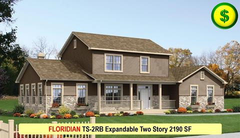 FLORIDIAN TS-2RB Expandable Two Story 2190 SF Crop