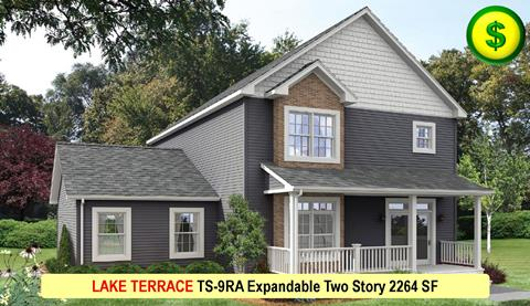 LAKE TERRACE TS-9RA Expandable Two Story 2264 SF Crop
