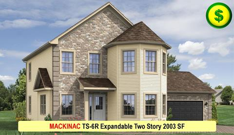 MACKINAC TS-6R Expandable Two Story 2003 SF Crop