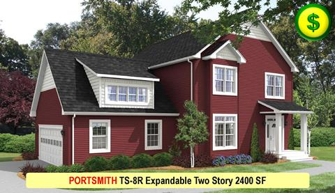 PORTSMITH TS-8R Expandable Two Story 2400 SF Crop