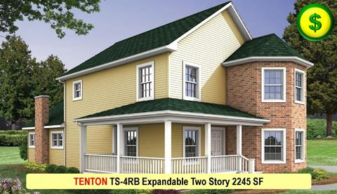 TENTON TS-4RB Expandable Two Story 2245 SF Crop