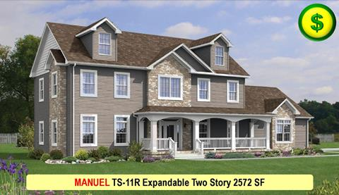 MANUEL TS-11R Expandable Two Story 2672 SF Crop