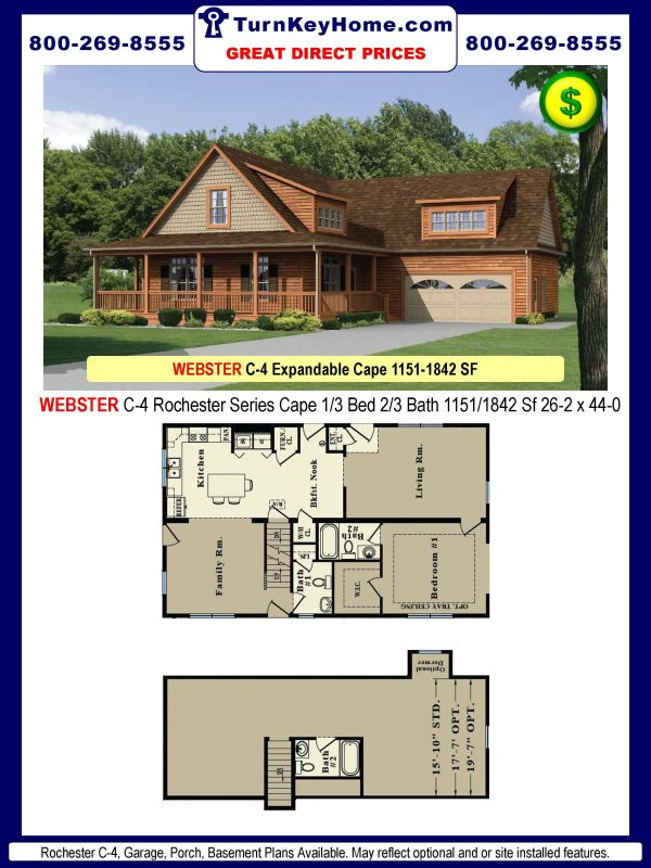 cape home plans pricedmodular homes manufactured homes