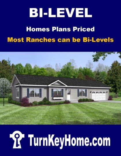 Bi Level Home Plans Priced