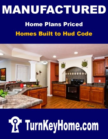Manufactured Home Plans Priced