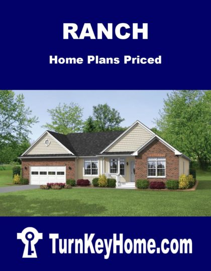 Ranch Home Plans Priced