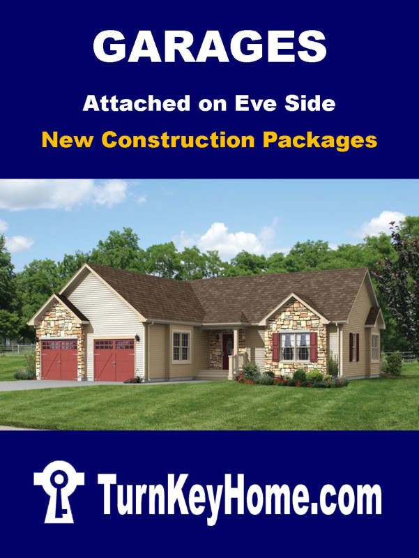 Garage Package Attached On Eve Side Direct Price