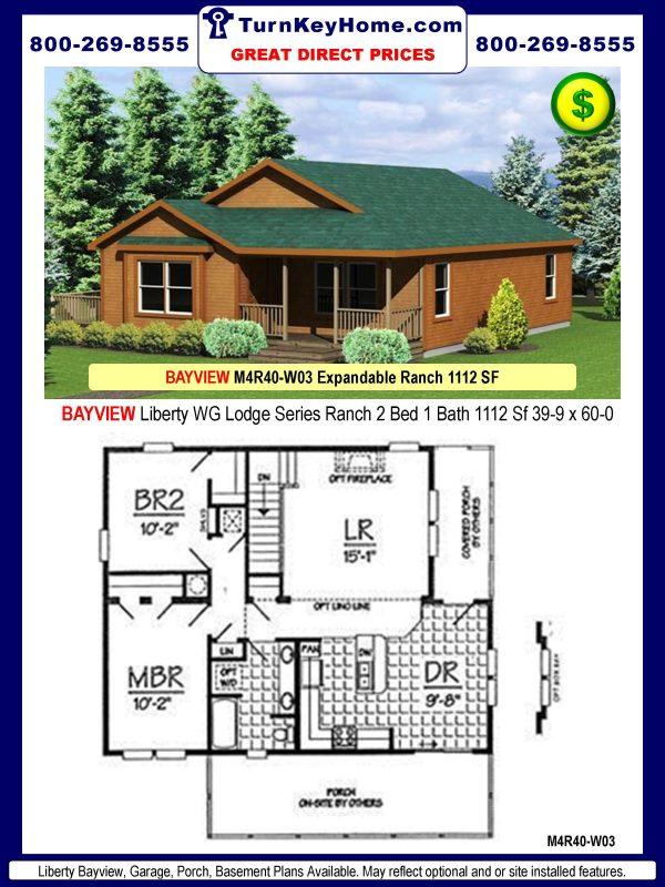 liberty homes bayview m4r40 w03 wg lodge series modular