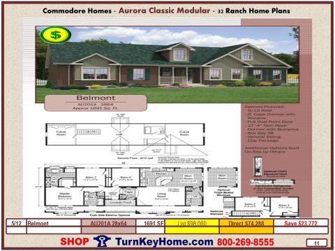 Modular.Commodore.Homes.Aurora.Classic.Ranch.Home.Series.Catalog.Page.7.Belmont.Direct.Price.020115P