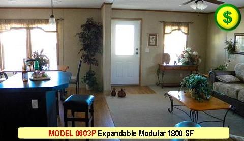 MODEL 0603P Sahara Modular Series 3 Bed 2 Bath 1800 SF 30-0 X 60-0 480x277