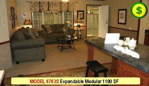 MODEL 6763S Mojave Sectional Modular 3 Bed 2 Bath 1180 SF 13-4 X 76-0 480x277