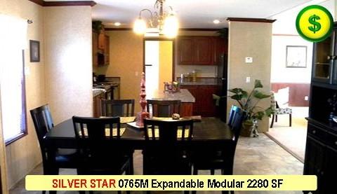 SILVER STAR 0765M Mojave Sectional Modular 5 Bed 3 Bath 2280 SF 30-0 X 76-0 480x277