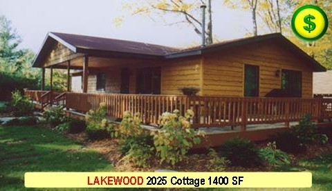LAKEWOOD 2025 Cottage 3 Bed 2 Bath 1400 SF 28-0 X 52-0 480x277