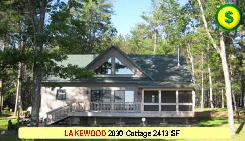 LAKEWOOD 2030 Cottage 1 Bed 2 Bath 2413 SF 48-0 X 68-0 480x277