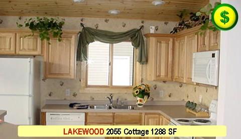 LAKEWOOD 2055 Cottage 3 Bed 2 Bath 1288 SF 28-0 X 48-0 480x277