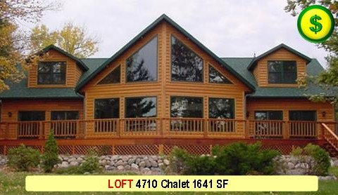 LOFT 4710 Chalet 2 Bed 1 Bath 1641 SF 28-0 X 44-0 480x277