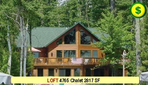 LOFT 4765 Chalet 3 Bed 3 Bath 2817 SF 58-0 X 48-0 480x277