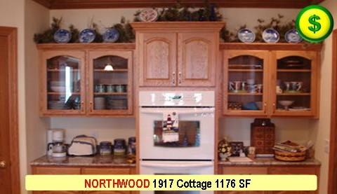 NORTHWOOD 1917 Cottage 2 Bed 1 Bath 1176 SF 26-0 X 42-0 480x277