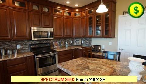 SPECTRUM 3660 Ranch 3 Bed 3 Bath 2052 SF 42-0 X 60-0 480x277