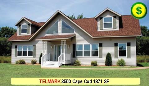 TELMARK 3550 Cape Cod 3 Bed 3 Bath 1871 SF 28-0 X 40-0 480x277