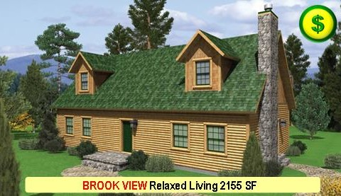 BROOK VIEW Relaxed Living Series 3 Bed 2.5 Bath 2155 SF 52-0 X 28-0 480x277