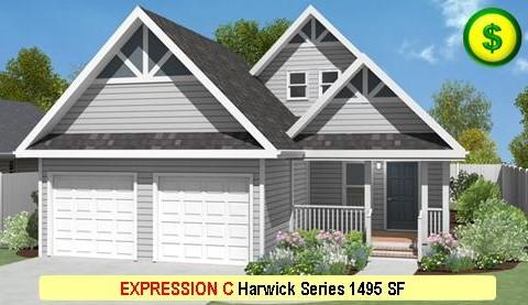 EXPRESSION C Harwick Series 2 Bed 2 Bath 1495 SF 28-0 X 42-0 480x277