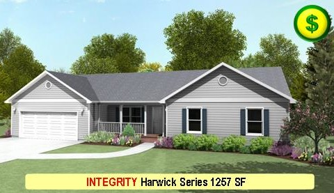 INTEGRITY Harwick Series 3 Bed 2 Bath 1257 SF 44-0 X 32-0 480x277