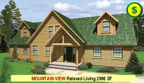 MOUNTAIN VIEW Relaxed Living Series 3 Bed 2.5 Bath 2996 SF 64-0 X 40-0 480x277