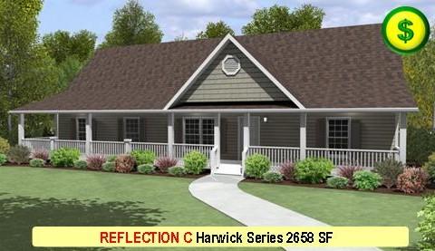 REFLECTION C Harwick Series 5 Bed 3 Bath 2388 SF 28-0 X 60-0 480x277