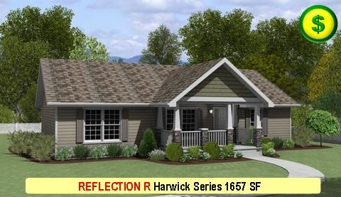 REFLECTION R Harwick Series 3 Bed 2 Bath 1326 SF 60-0 X 28-0 480x277