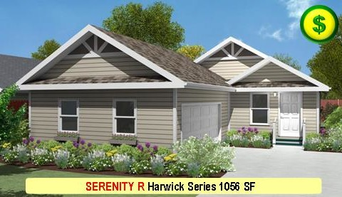 SERENITY R Harwick Series 2 Bed 1 Bath 1056 SF 28-0 X 42-0 480x277