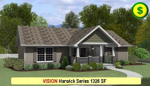 VISION Harwick Series 3 Bed 2 Bath 1326 SF 48-0 X 28-0 480x277