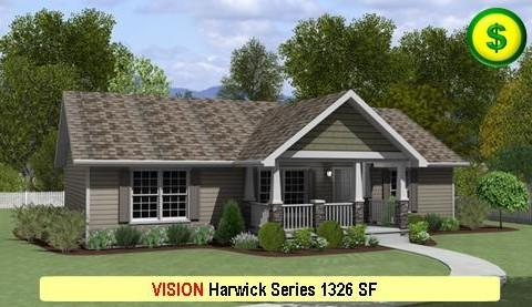 VISION Harwick Series 3 Bed 2 Bath 1326 SF 48-0 X 28-0 480x277