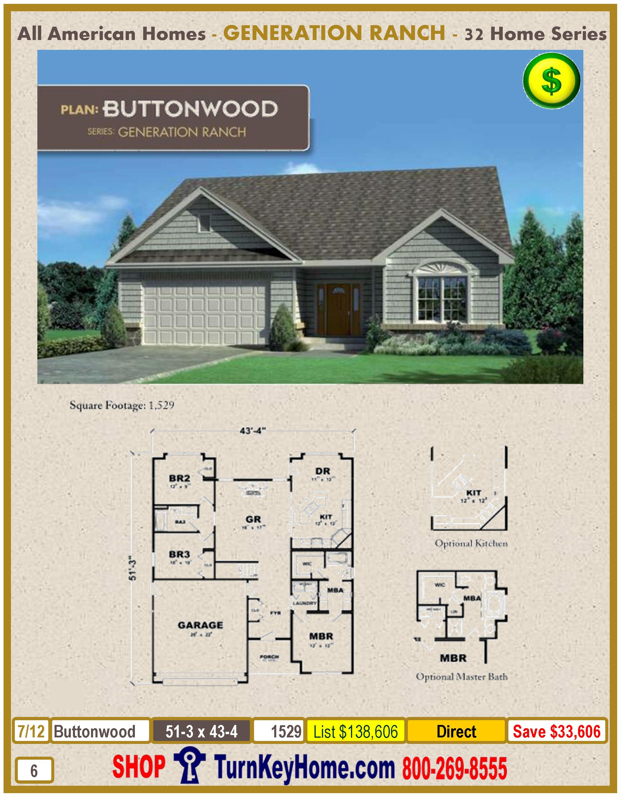 Modular.All.American.Homes.American.Lifestyle.Home.Series.Ranch.Plan.Catalog.Page.5.Buttonwood.Direct.Price.021315