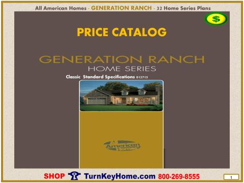 Modular.All.American.Homes.Generation.Ranch.Home.Series.Catalog.Page.1.Cover.Direct.Price.021415p
