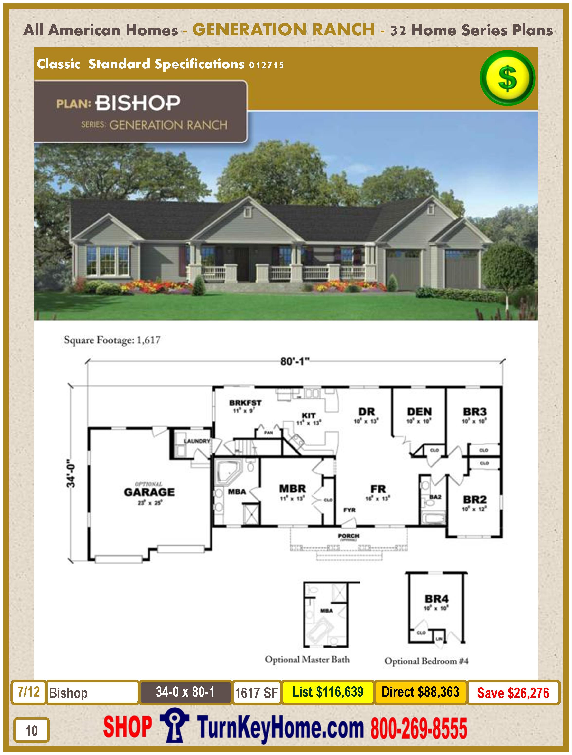 Modular.All.American.Homes.Generation.Ranch.Home.Series.Catalog.Page.10.Bishop.Direct.Price.021415