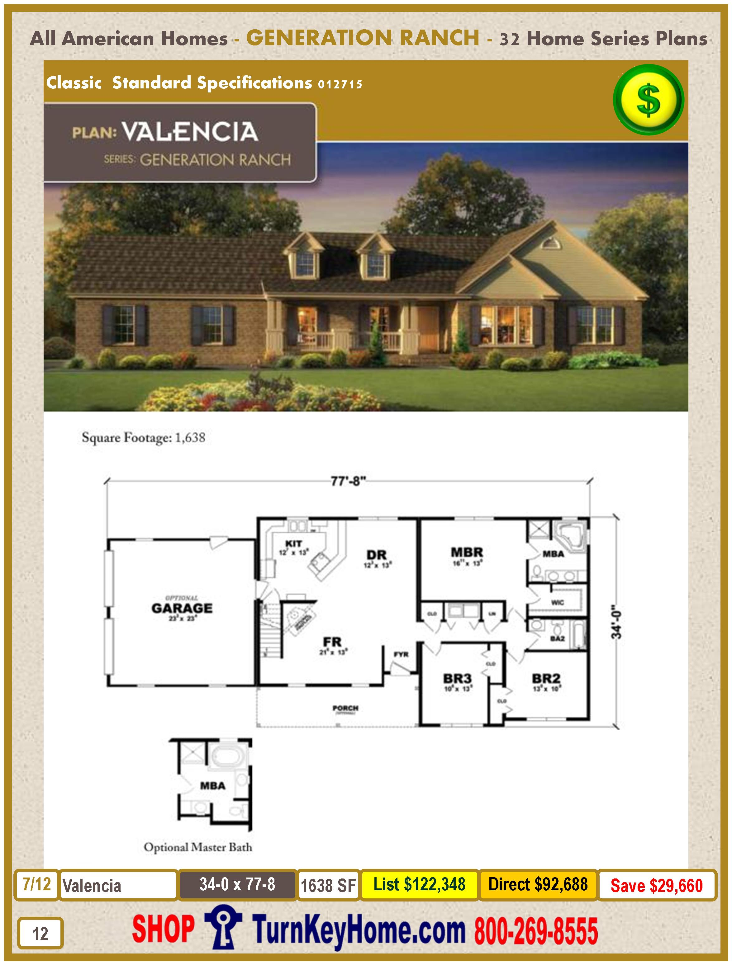 Modular.All.American.Homes.Generation.Ranch.Home.Series.Catalog.Page.12.Valencia.Direct.Price.021415