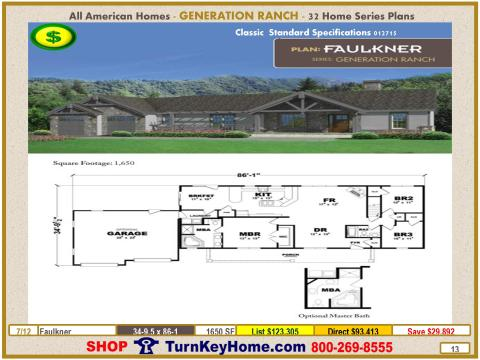 Modular.All.American.Homes.Generation.Ranch.Home.Series.Catalog.Page.13.Faulkner.Direct.Price.021415p