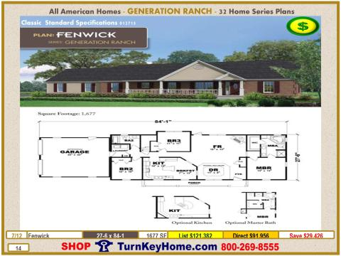 Modular.All.American.Homes.Generation.Ranch.Home.Series.Catalog.Page.14.Fenwick.Direct.Price.021415p
