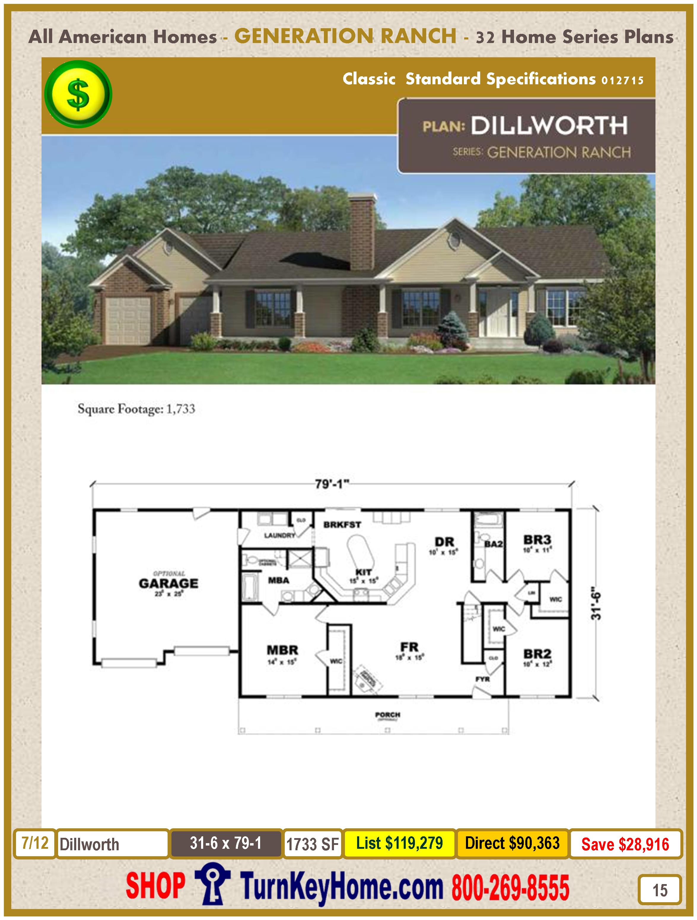 Modular.All.American.Homes.Generation.Ranch.Home.Series.Catalog.Page.15.Dillworth.Direct.Price.021415
