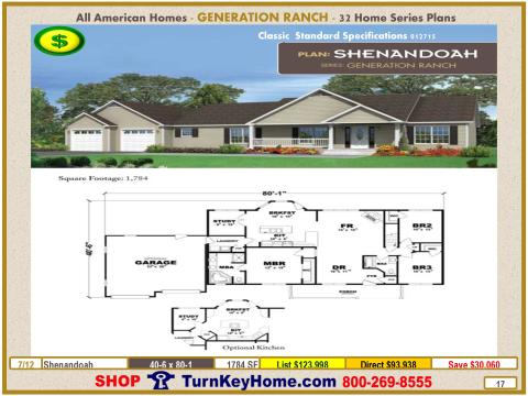 Modular.All.American.Homes.Generation.Ranch.Home.Series.Catalog.Page.17.Shenandoah.Direct.Price.021415p