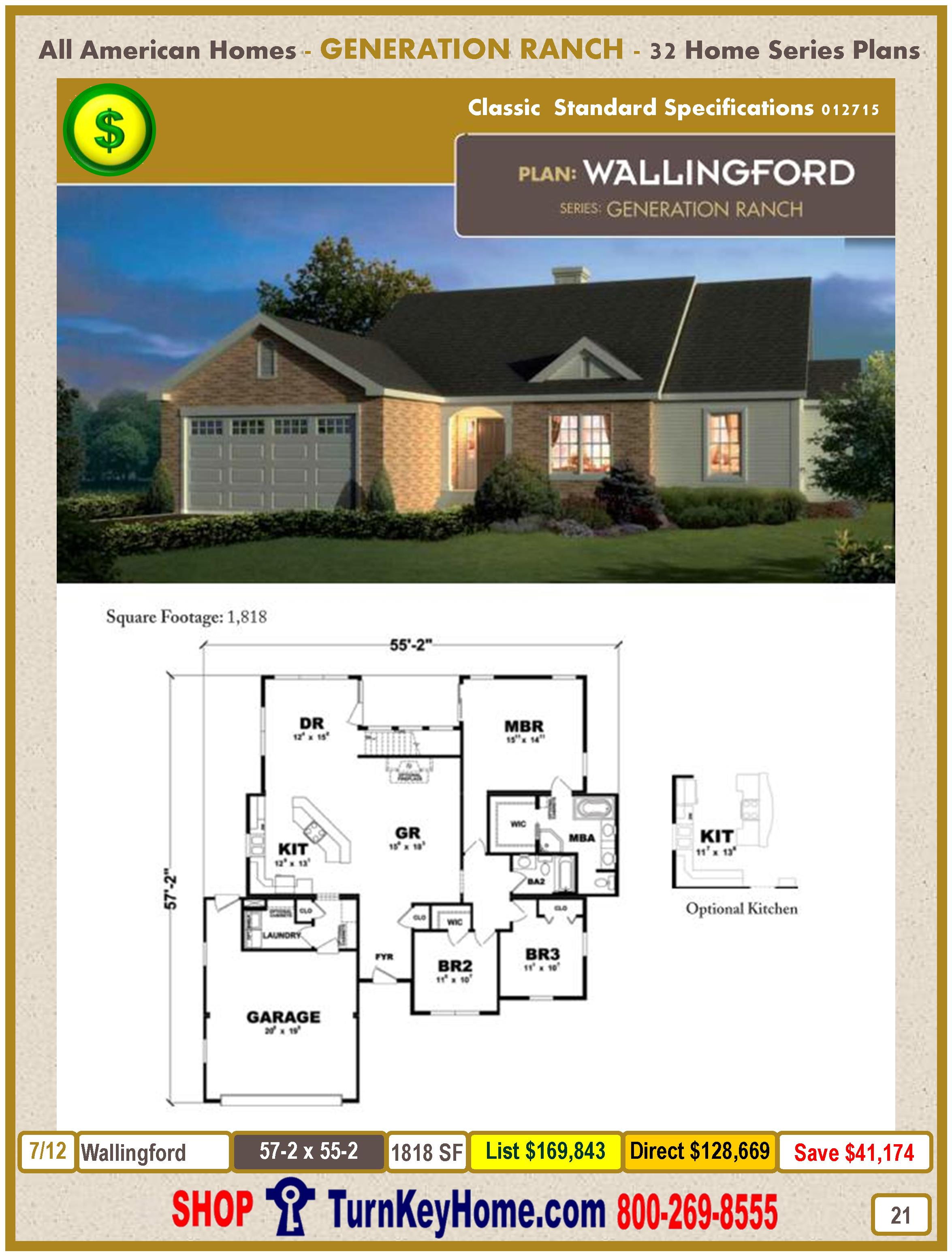 Modular.All.American.Homes.Generation.Ranch.Home.Series.Catalog.Page.21.Wallingford.Direct.Price.021415