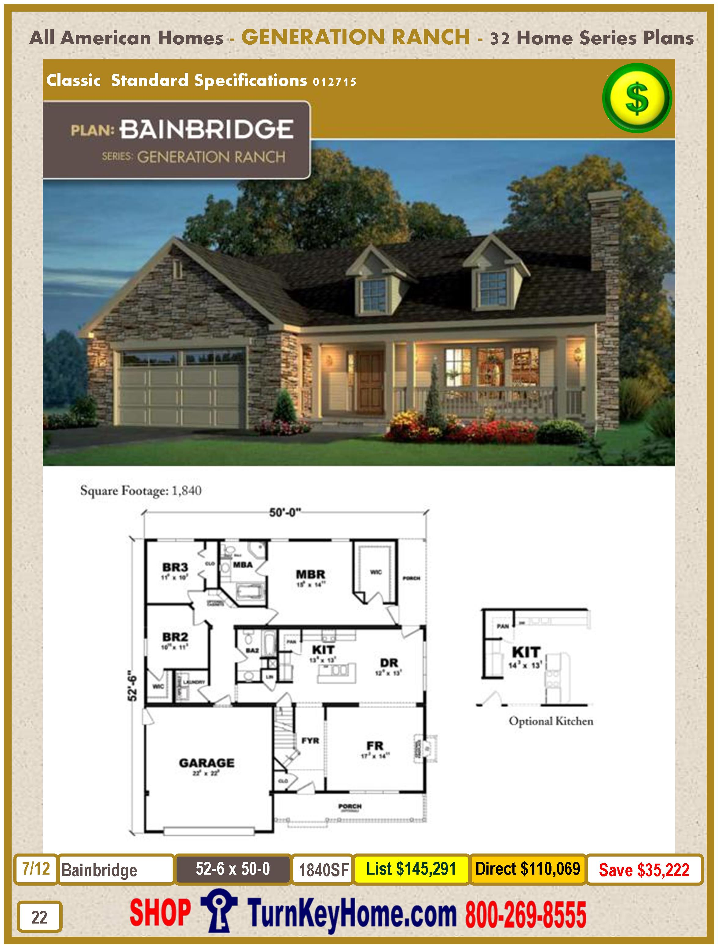 Modular.All.American.Homes.Generation.Ranch.Home.Series.Catalog.Page.22.Bainbridge.Direct.Price.021415