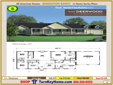 Modular.All.American.Homes.Generation.Ranch.Home.Series.Catalog.Page.23.Deerwood.Direct.Price.021415p