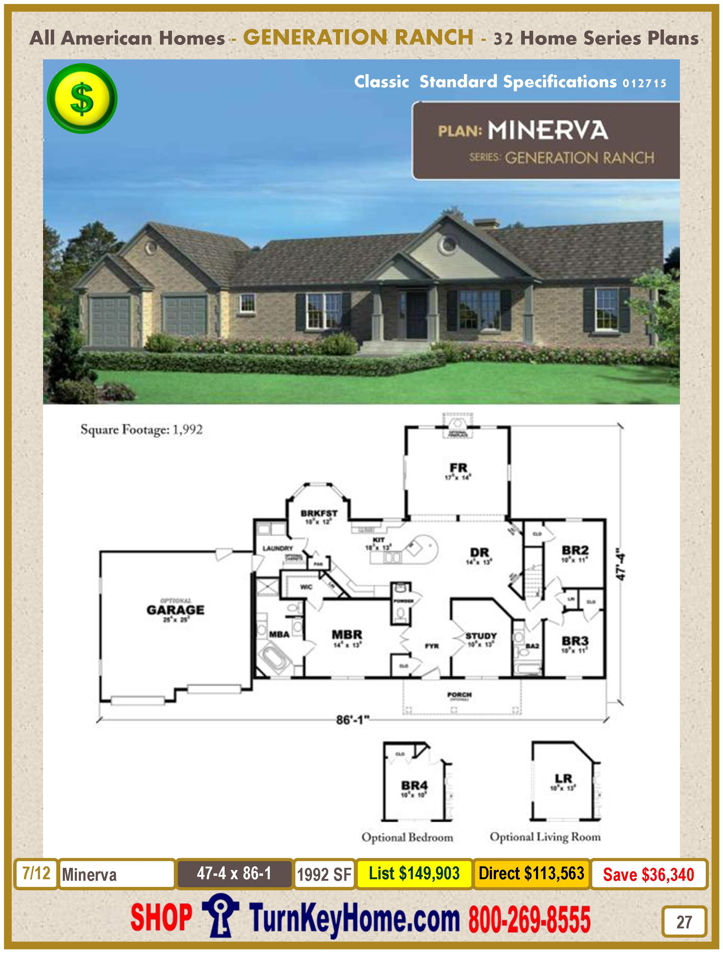 Modular.All.American.Homes.Generation.Ranch.Home.Series.Catalog.Page.27.Minerva.Direct.Price.021415