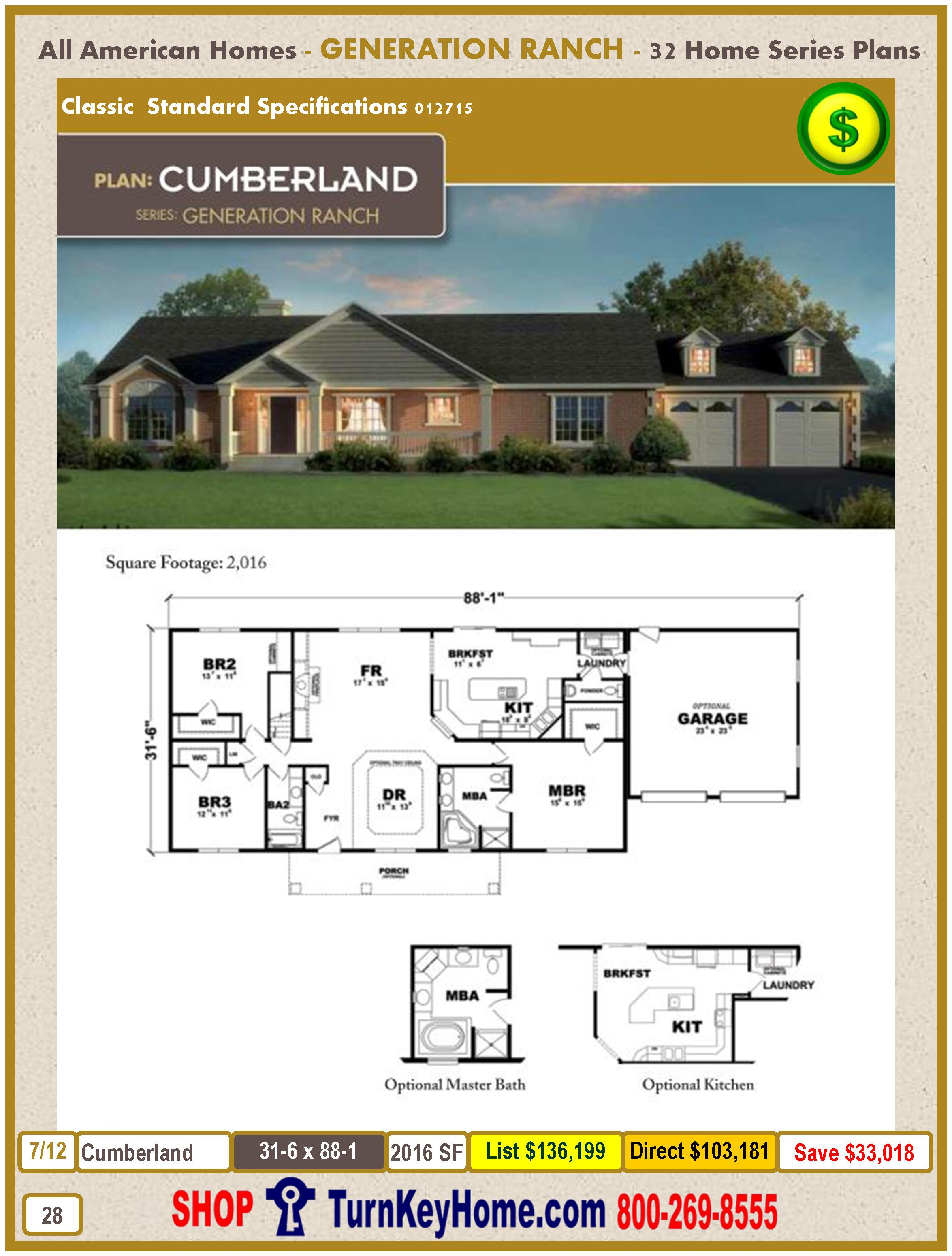 Modular.All.American.Homes.Generation.Ranch.Home.Series.Catalog.Page.28.Cumberland.Direct.Price.021415