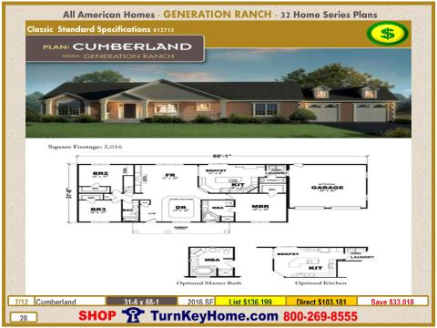 Modular.All.American.Homes.Generation.Ranch.Home.Series.Catalog.Page.28.Cumberland.Direct.Price.021415p