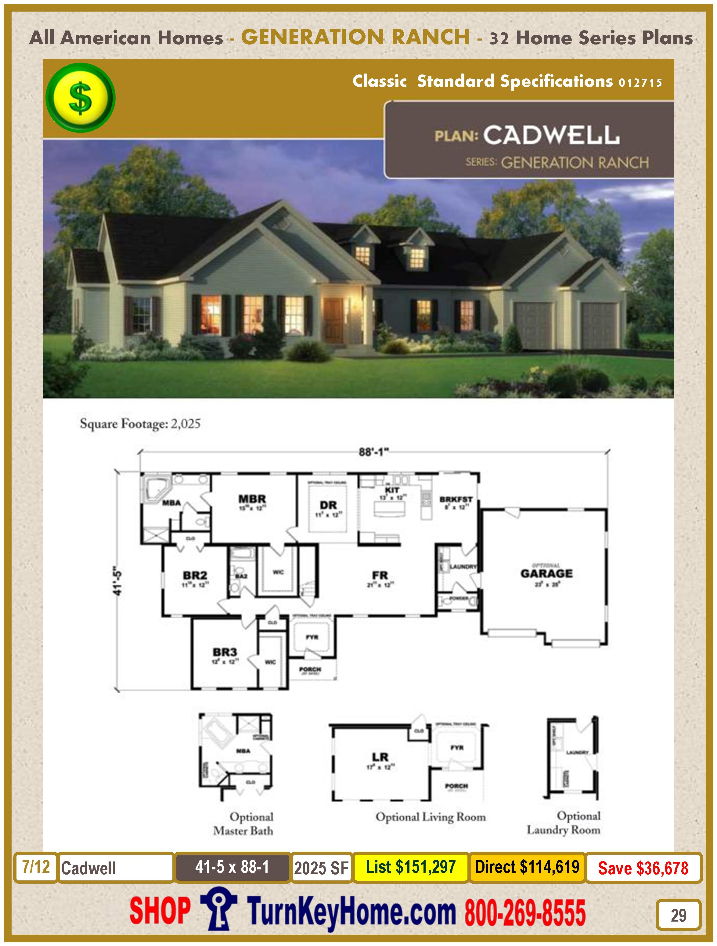 Modular.All.American.Homes.Generation.Ranch.Home.Series.Catalog.Page.29.Cadwell.Direct.Price.021415