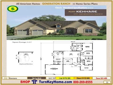Modular.All.American.Homes.Generation.Ranch.Home.Series.Catalog.Page.33.Kenmare.Direct.Price.021415p
